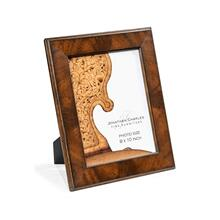 """8""""X10"""" Stepped Mahogany Picture Frame"""