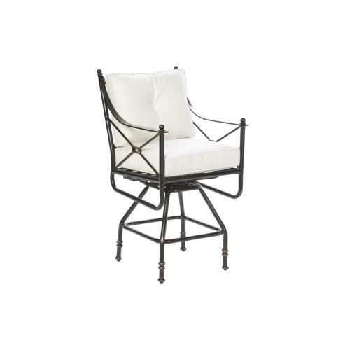 Gables Gathering Swivel Arm Chair