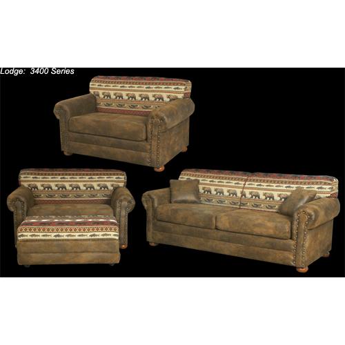 Best Craft Furniture - 3401 Sofa
