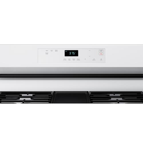 Samsung - 6.0 cu. Ft. Smart Freestanding Gas Range with No-Preheat Air Fry & Convection in White