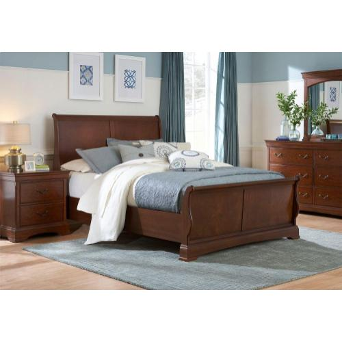 Rhone Manor Sleigh Bed, Queen