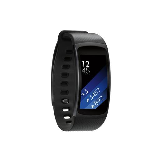 Samsung - Gear Fit2 (Small) Black