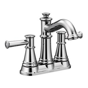 Belfield chrome two-handle bathroom faucet Product Image