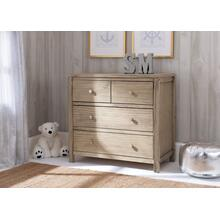 Cambridge 3 Drawer Dresser - Rustic Driftwood (112)