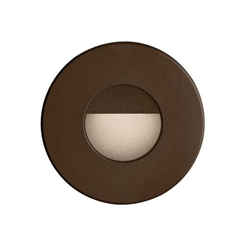 Bronze Round In/outdoor 3w LED Wall Ligh