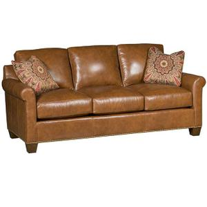 King Hickory - Darby Leather Sofa