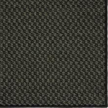 See Details - Double Weave Jute Gunmetal 12'x15' / Leather Border