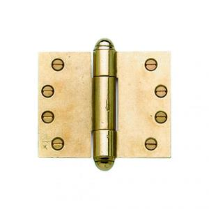 "Butt Hinge (wide throw) - 4"" x 5"" Silicon Bronze Brushed Product Image"