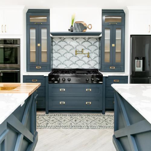 "ZLINE 48"" Ceramic Rangetop in Black Stainless [Color: Black Stainless Steel]"