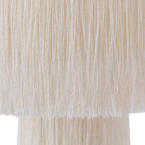 Tov Furniture - Atolla Cream Tassel Table Lamp