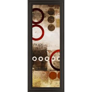 """Red Liberated Panel I"" By Michael Marcon Print Framed Wall Art"
