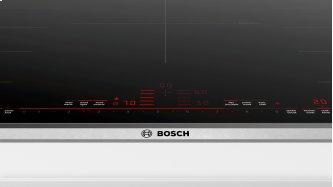Benchmark™ Induction Cooktop 36'' Black, surface mount without frame NITP669SUC