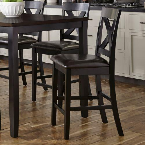 X Back Counter Chair- Single Chair