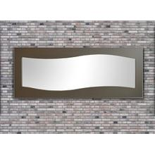 Waves Contemporary Mirror