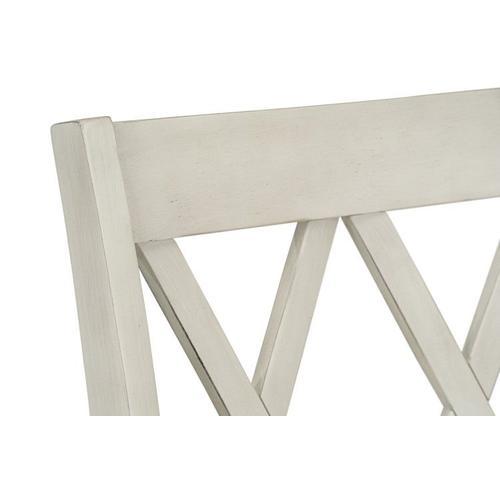 Standard Furniture - Benton X-Back Dining Chairs, White