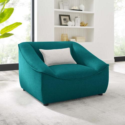 Comprise Armchair in Teal