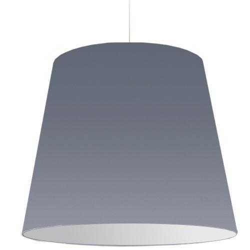 1lt Oversized Drum Pendant X- Large Grey Shade
