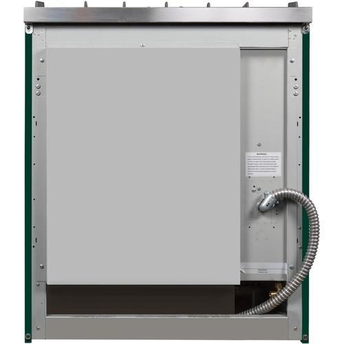 30 Inch Emerald Green Dual Fuel Liquid Propane Freestanding Range