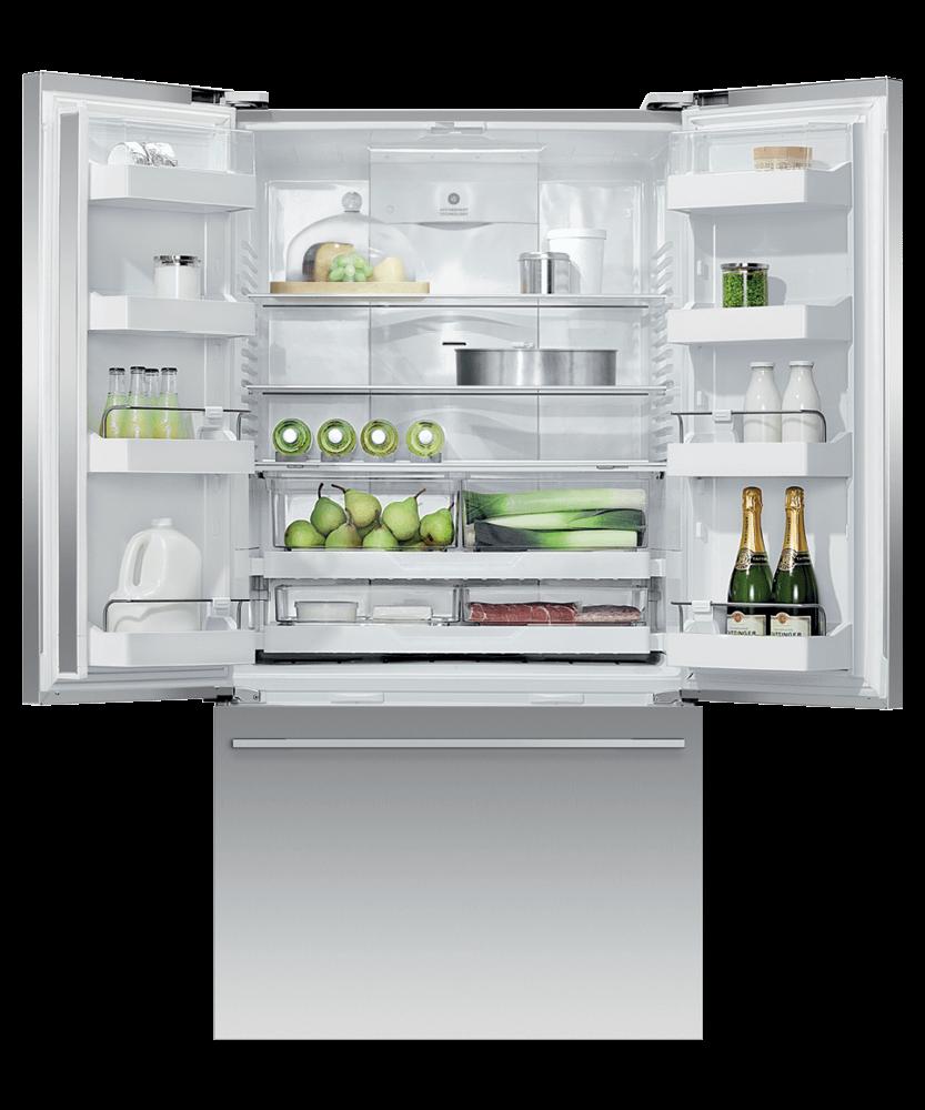 """Fisher & PaykelFreestanding French Door Refrigerator Freezer, 36"""", 20.1 Cu Ft"""