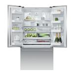"""Freestanding French Door Refrigerator Freezer, 36"""", 20.1 cu ft"""
