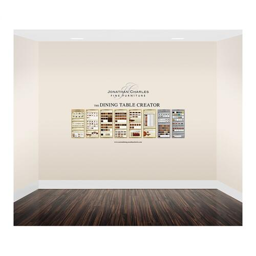 Small custom dining graphic display