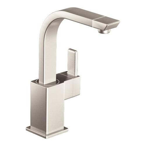 90 Degree spot resist stainless one-handle bar faucet