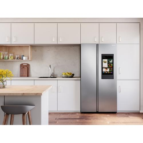 27.3 cu. ft. Smart Side-by-Side Refrigerator with Family Hub™ in Stainless Steel