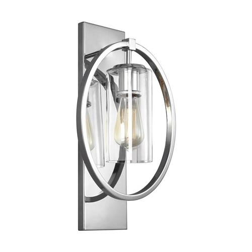 Marlena Large Sconce Chrome