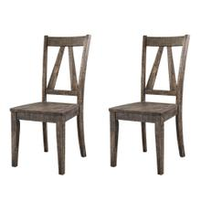 Finn Wooden Side Chair Set