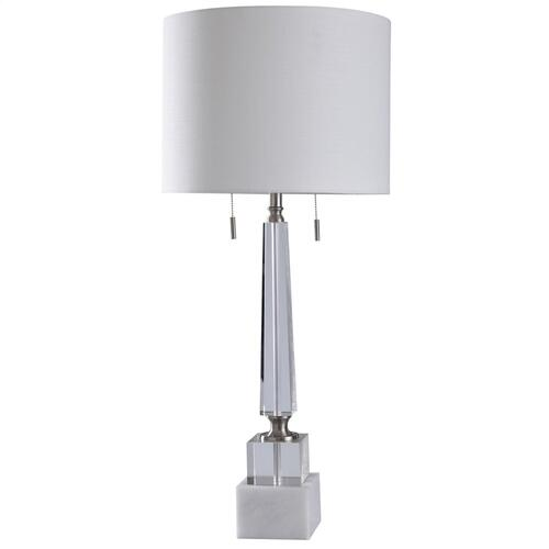 L317950 In By Style Craft Wilmington, Twin Pull Chain Table Lamp