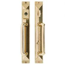 """View Product - Mack Entry Sliding Door Set - 1 3/4"""" x 13"""" Silicon Bronze Brushed"""