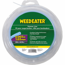 """View Product - Weed Eater Trimmer Lines .065"""" x 200' Round Trimmer Line"""