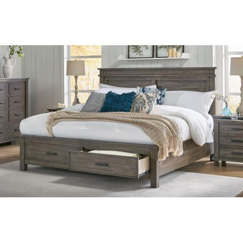 Product Image - CAL KING STORAGE BED
