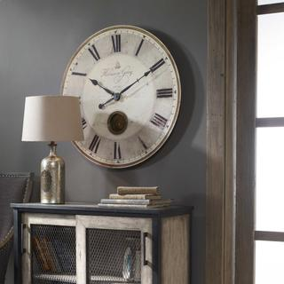 """See Details - Harrison Gray 30"""" Wall Clock"""