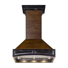 "ZLINE 30"" Designer Series Wooden Wall Range Hood with Crown Molding (321AR-30)"