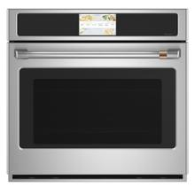 """See Details - Café 30"""" Built-In Convection Single Wall Oven Stainless Steel"""