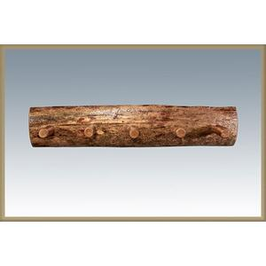 Glacier Country Log Coat Rack
