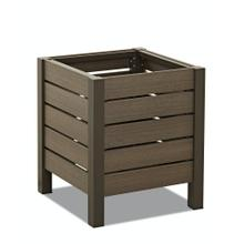 Delray Square Planter 21""