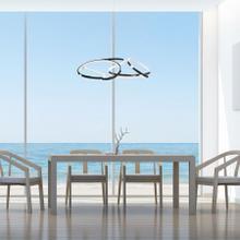 See Details - Suzhou LED Adjustable Chandelier // Chrome Finish