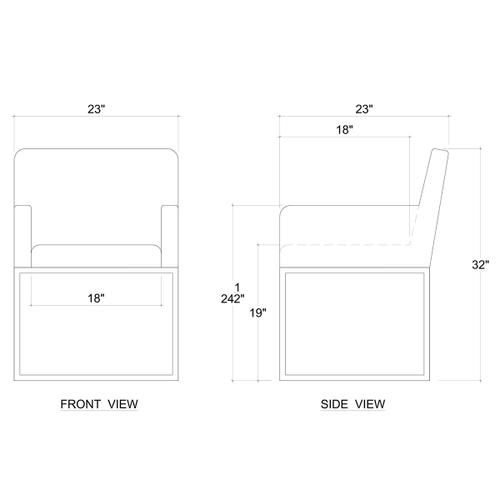 Gallery - Sol Dining Chair (32 x 23 x 24)