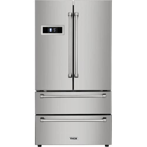 Thor KitchenStainless Steel French Door Refrigerator