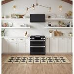 """Cafe Appliances 30"""" Smart Slide-In, Front-Control, Dual-Fuel, Double-Oven Range with Convection"""