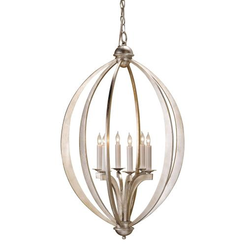 Bella Luna Silver Large Chandelier