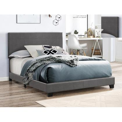 See Details - Erin Full Bed - Grey