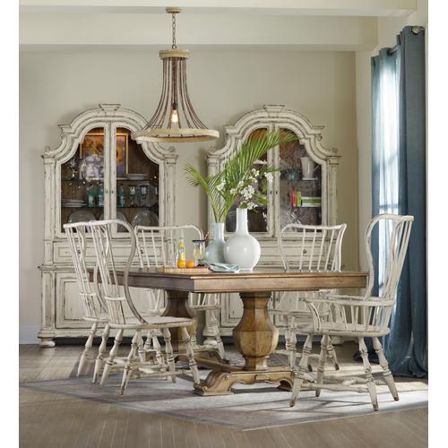 Sanctuary Spindle Back Side Chair - 2 per carton/price ea