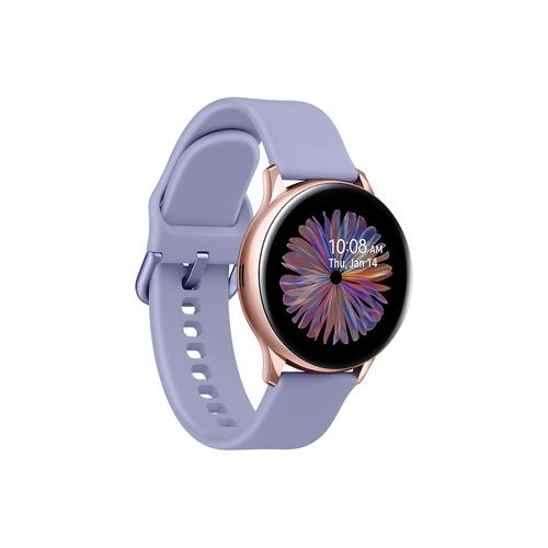 Gallery - Galaxy Watch Active2 (Bluetooth 40mm), Rose Gold with Phantom Violet Band