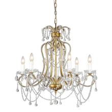 Chancery 6-lt Crystal Chandelier