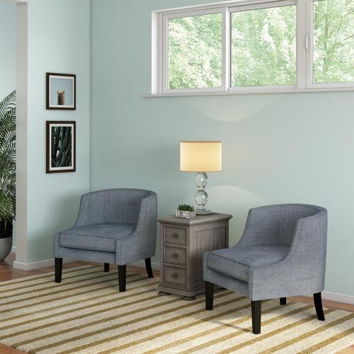 Chairside Chest - Grey