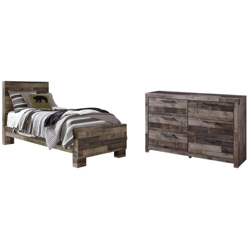 Ashley - Twin Panel Bed With Dresser