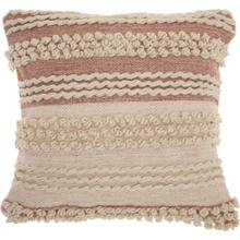 "Life Styles Dc425 Blush 20"" X 20"" Throw Pillow"
